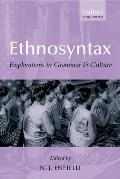 Ethnosyntax: Explorations in Grammar and Culture