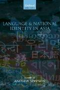 Language & National Identity in Asia C