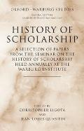 History of Scholarship