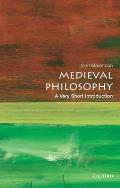 Medieval Philosophy A Very Short Introduction