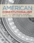 American Constitutionalism Volume II Rights & Liberties