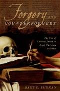 Forgery & Counter Forgery The Use Of Literary Deceit In Early Christian Polemics