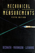 Mechanical Measurements 5th Edition