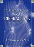 Elements Of Xray Diffraction 3rd Edition