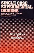 Single Case Experimental Designs