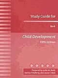 Study Guide For Berk Child Development