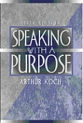 Speaking With A Purpose 5th Edition