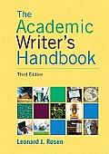 The Academic Writer's Handbook