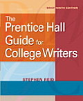 The Prentice Hall Guide for College Writers (Mycomplab)