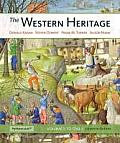 Western Heritage The Volume 1 Plus New Myhistorylab With Etext Access Card Package