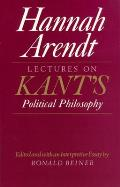 Lectures On Kants Political Philosophy