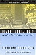 Black Metropolis A Study Of Negro Life
