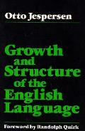 Growth & Structure Of The English Langua