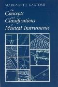 On Concepts & Classifications of Musical Instruments