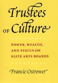 Trustees of Culture Power Wealth & Status on Elite Arts Boards