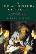 Social History Of Truth Civility & S
