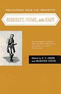 Philosophers Speak for Themselves Berkeley Hume & Kant