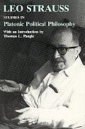 Studies in Platonic Political Philosophy