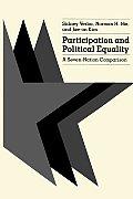 Participation & Political Equality A Seven Nation Comparison