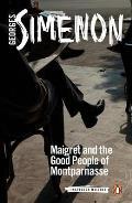 Maigret and the Good People of Montparnasse: Maigret 86