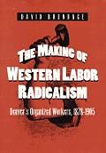 Making of Western Labor Radicalism Denvers Organized Workers 1878 1905
