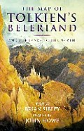 The Map of Tolkien's Beleriad and the Lands to the North