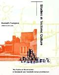 Studies In Tectonic Culture The Poetics