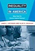 Inequality in America What Role for Human Capital Policies