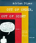 Out of Order Out of Sight Volume I Selected Writings in Meta Art 1968 1992