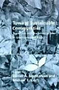 Toward Sustainable Communities Transition & Transformations in Environmental Policy