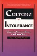 Culture of Intolerance Chauvinism Class & Racism in the United States