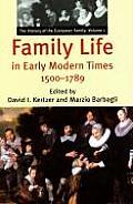 History Of The European Family Volume 1 Fami