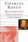 Beethovens Piano Sonatas A Short Companion With CD