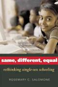 Same Different Equal Rethinking Single S