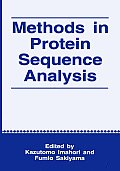 Methods in Protein Sequence Analysis