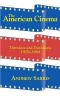 American Cinema Directors & Directions 1929 1968