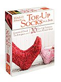 Toe Up Socks in a Box Essential Sock Techniques & 20 Toe Up Patterns from Wendy Knits