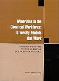 Minorities in the chemical workforce