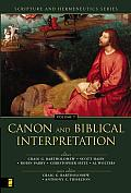 Canon & Biblical Interpretation