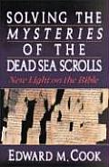 Solving The Mysteries Of The Dead Sea Sc