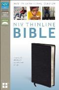 Bible NIV Thinline Black