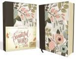 NKJV, Beautiful Word Bible, Hardcover, Multi-Color Floral Cloth, Red Letter Edition: 500 Full-Color Illustrated Verses