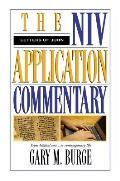 Letters Of John The Niv Application Comm