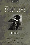 Bible NRSV Burgundy Spiritual Formation