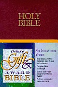Bible Niv Burgundy Helps Red Letter