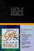 Bible Niv Black Deluxe Gift & Award