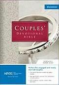 Bible Niv Burgundy Couples Devotional