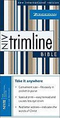 Bible Niv Blue Snap Pocket Red Letter