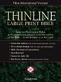 Bible Niv Navy Thinline Large Print