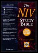 Bible Niv Black Study